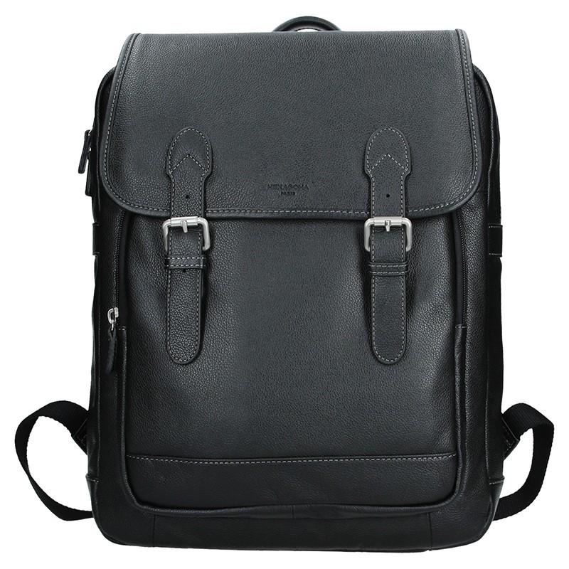 Pánsky kožený batoh Hexagona 465455