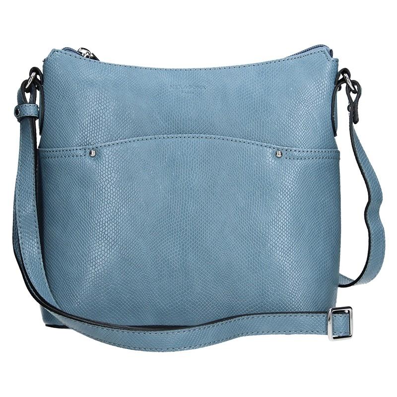 Dámska kabelka Hexagona 495345 - modrá