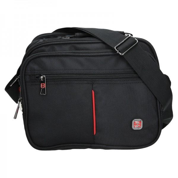 Pánská taška přes rameno Enrico Benetti Boston - černá
