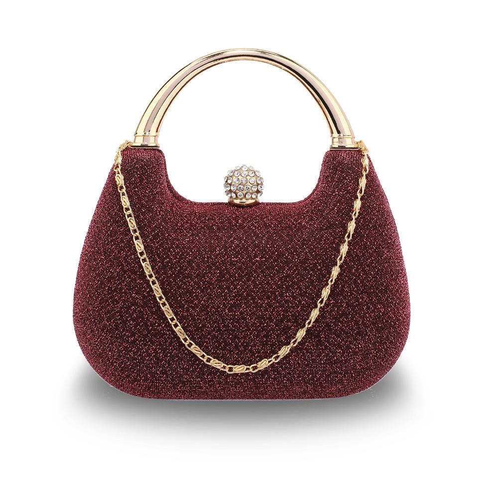 Dámska listová kabelka LS Fashion Kirsten - červená