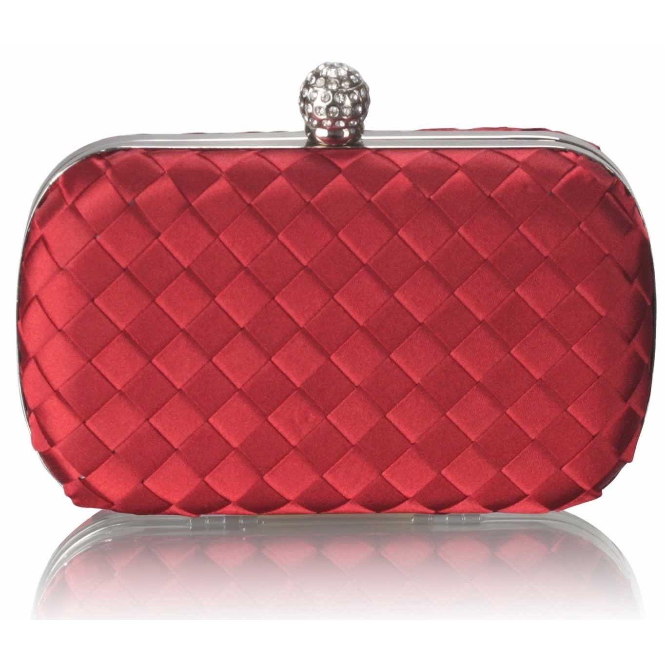 Dámska listová kabelka LS Fashion Sophie - červená