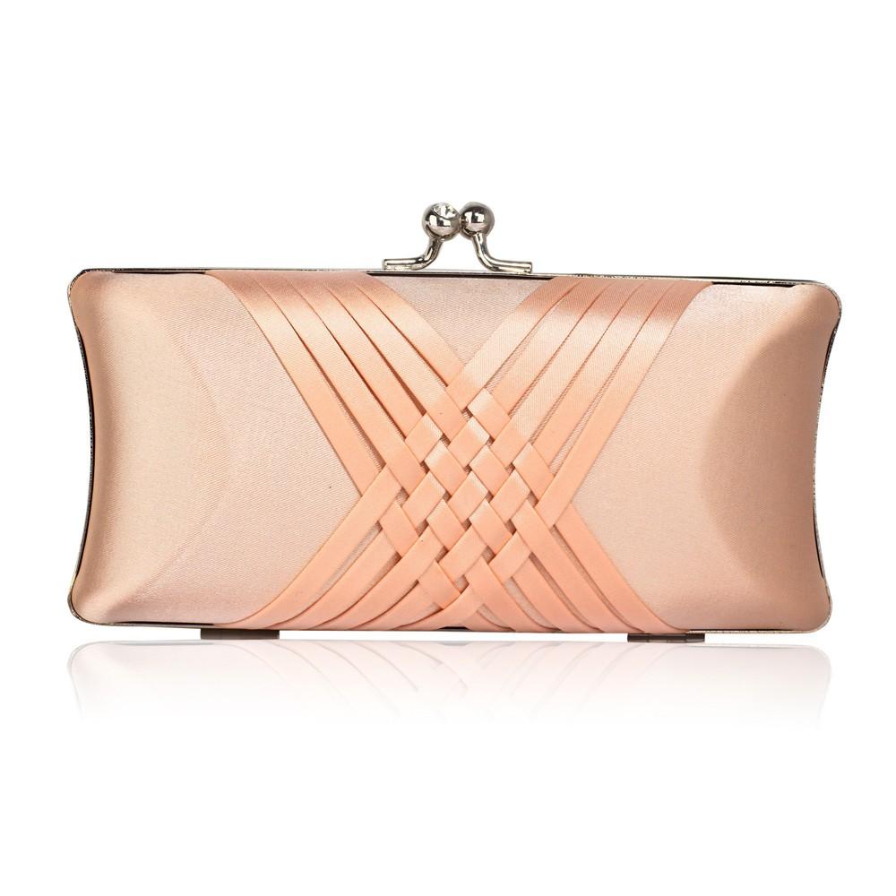 Dámska listová kabelka LS Fashion Lily - oranžová