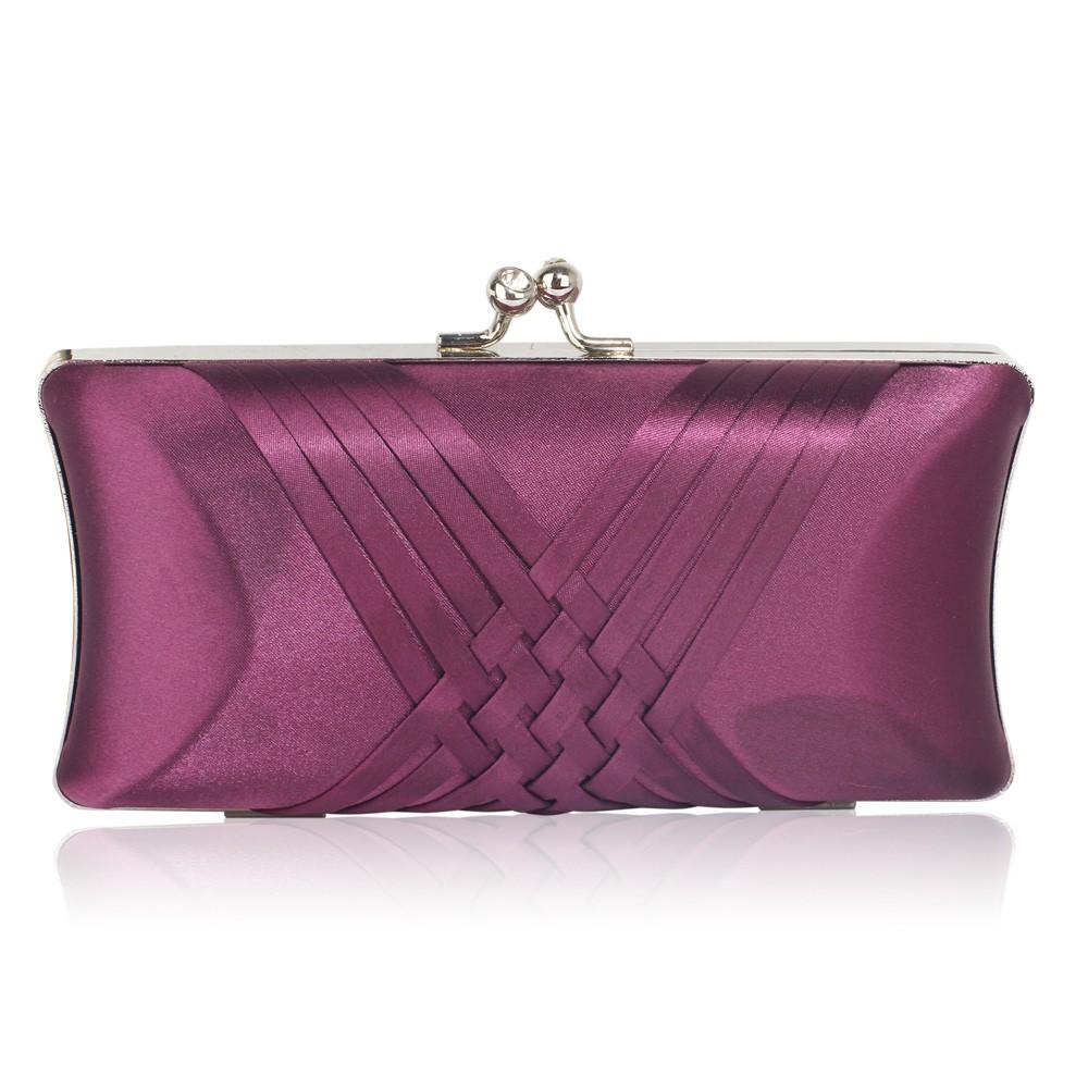 Dámska listová kabelka LS Fashion Lily - fialová
