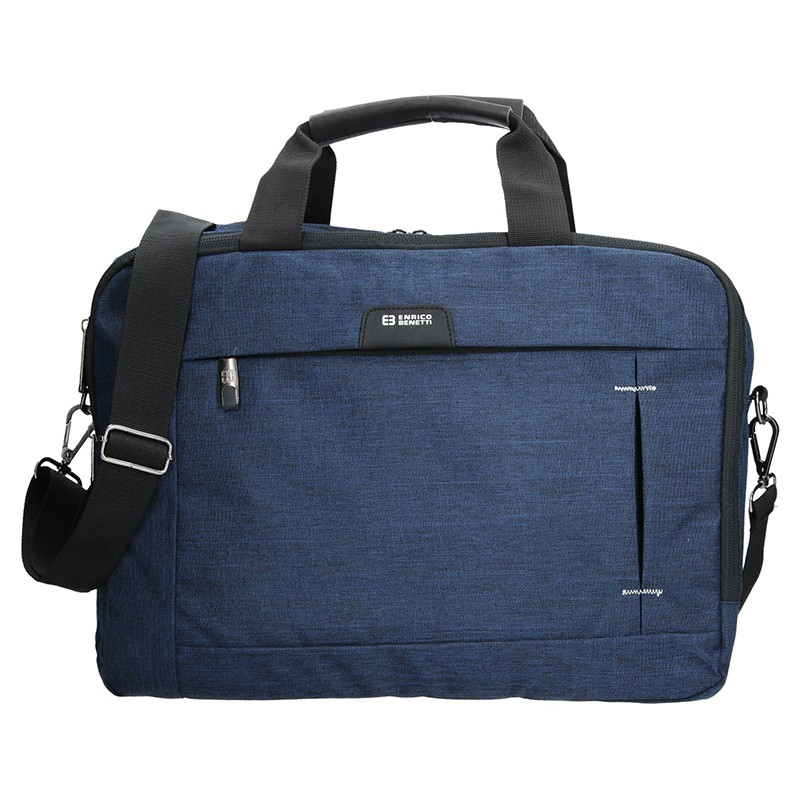 Pánska taška cez rameno Enrico Benetti Paul - modrá