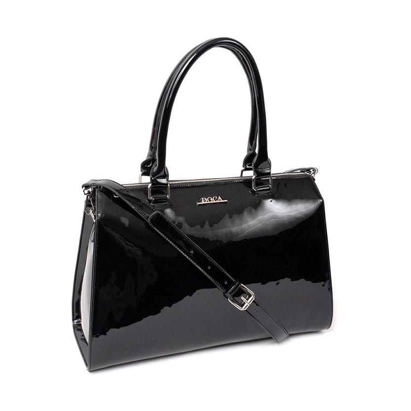 Dámska kabelka Doca 13166 - čierna