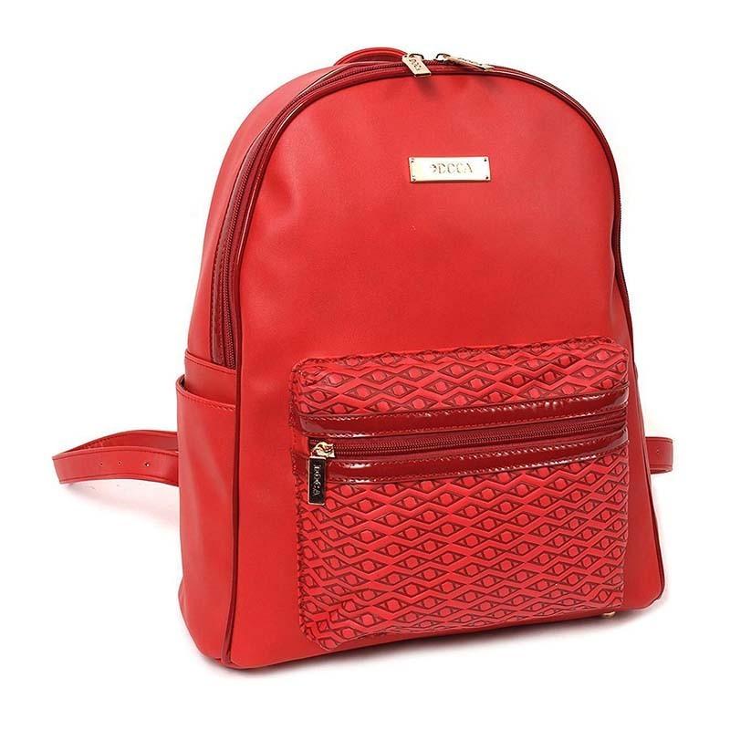 Dámský batůžek Doca 13108 - červená.