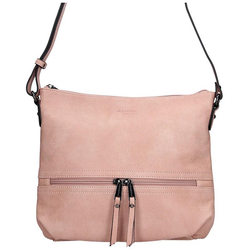 Dámska kabelka Hexagona 315314 - ružová