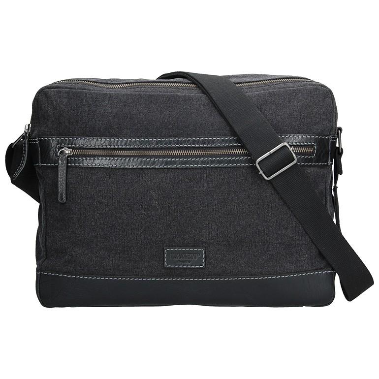 Pánska taška cez rameno Lagen Marlon - čierna