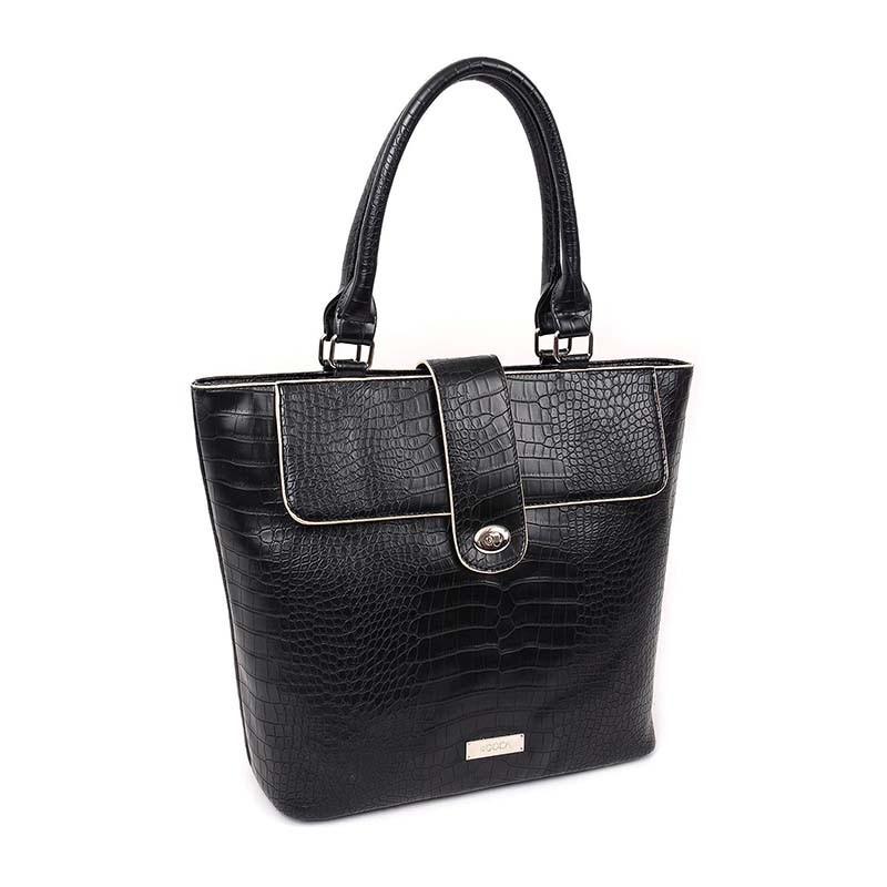 Dámska kabelka Doca 13052 - čierna