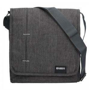 Pánská taška přes rameno Enrico Benetti MPánská taška přes rameno Enrico Benetti Eric - šedo-černáonter - šedo-černá