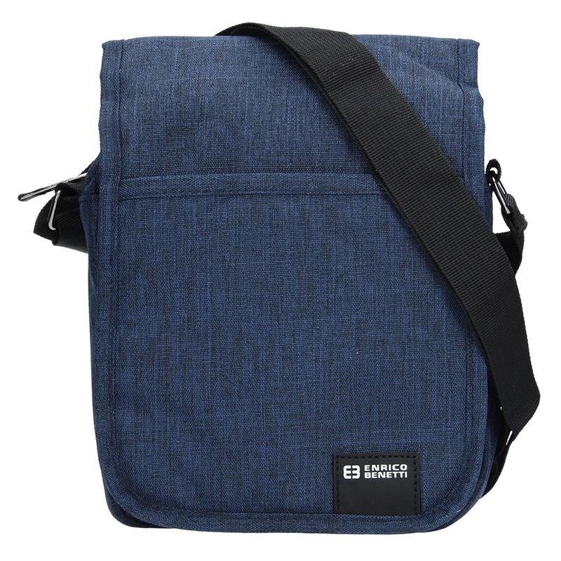 Pánska taška na doklady Enrico Benetti Niels - modrá