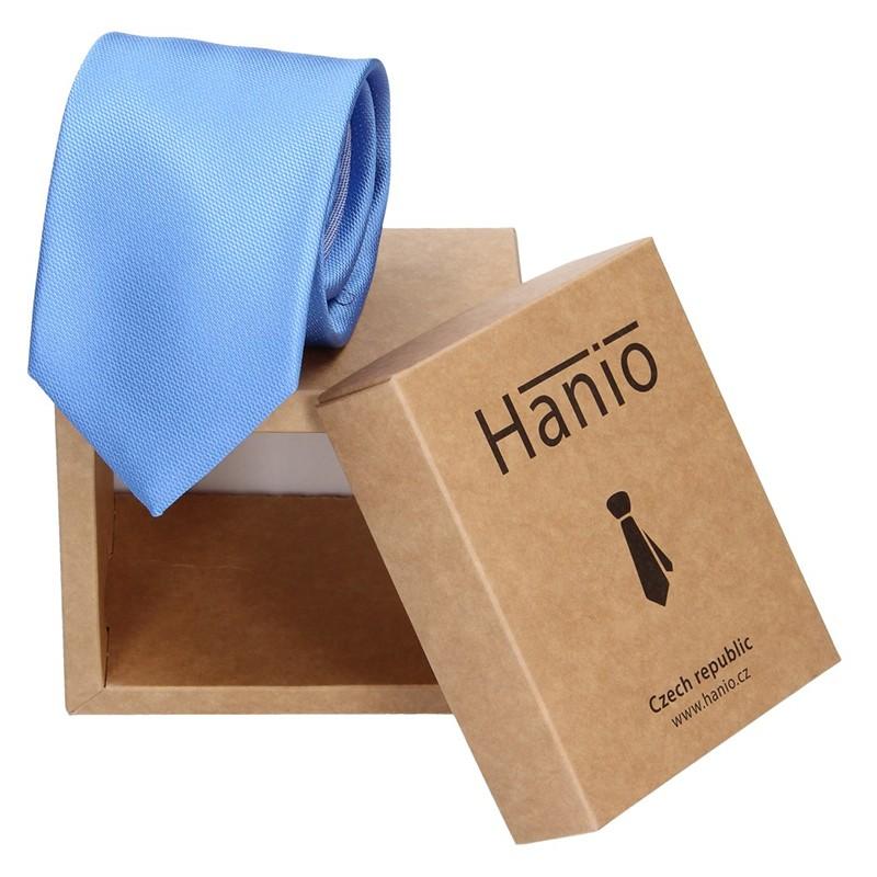 Pánska hodvábna kravata Hanio James - modrá