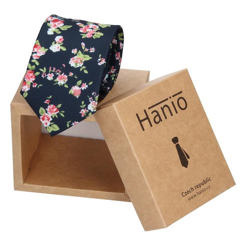 Pánska kravata Hanio Andrew - čierna