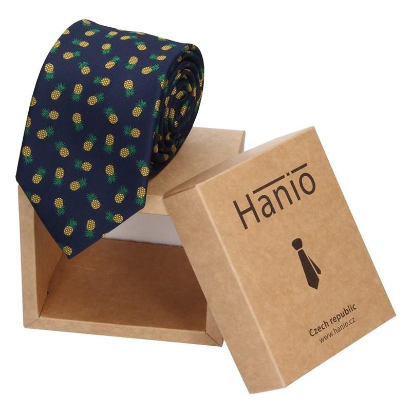 Pánska kravata Hanio Justin - modrá