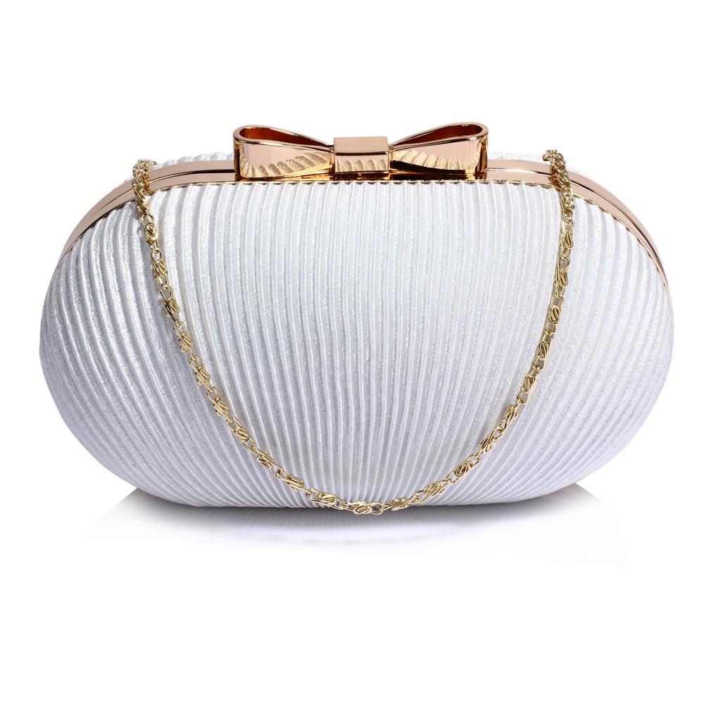 Dámska listová kabelka LS Fashion Bethany - ivory