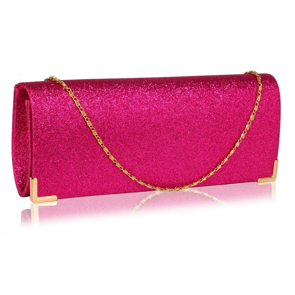 Dámska listová kabelka LS Fashion Mollie - ružová