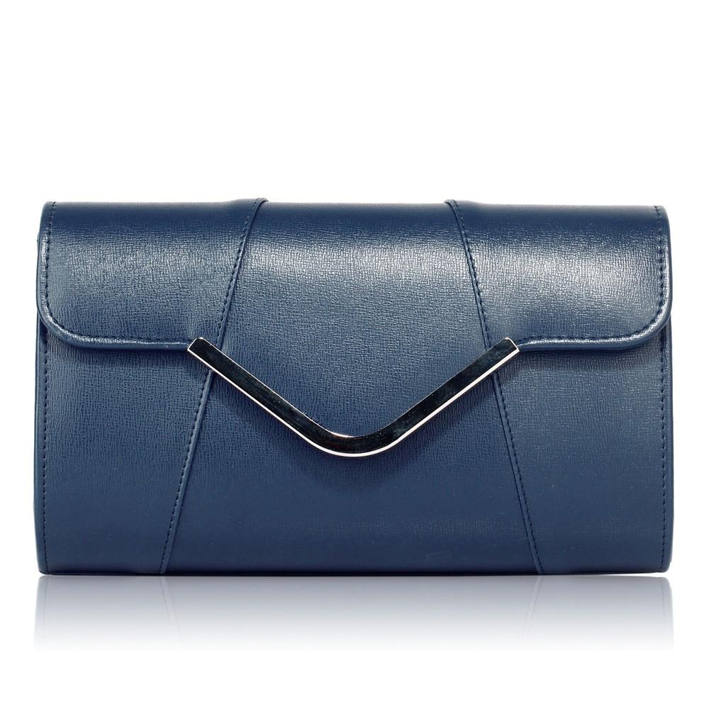 Dámska listová kabelkaLS Fashion Shine - modrá