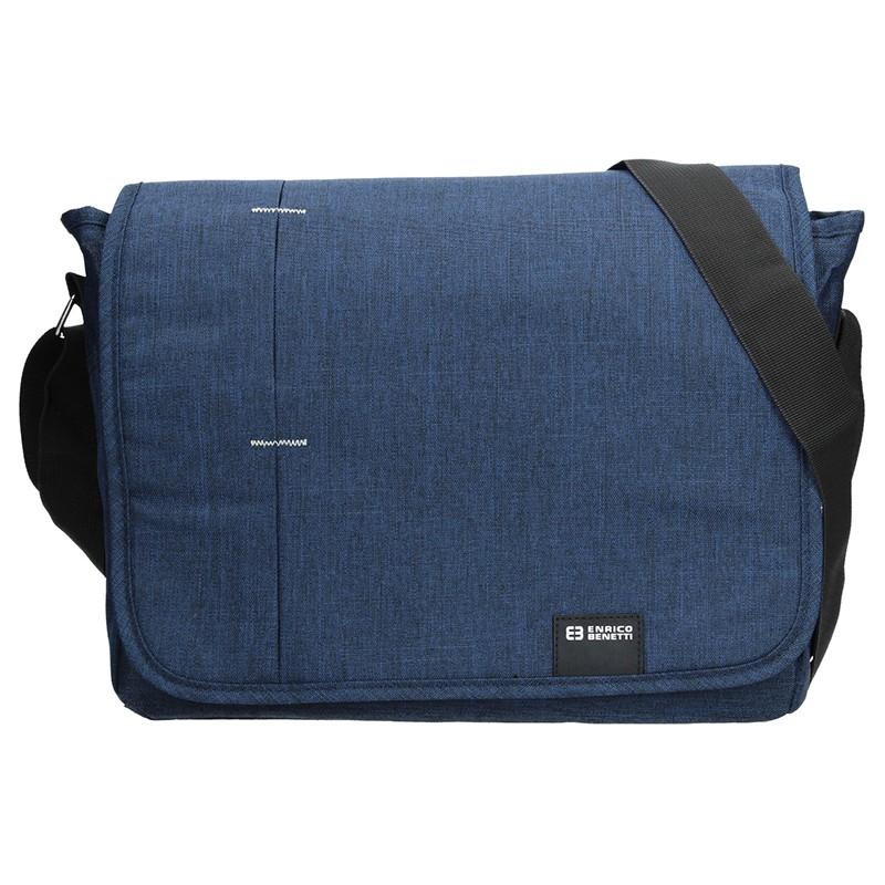 Pánská taška přes rameno Enrico Benetti Koplen - modrá