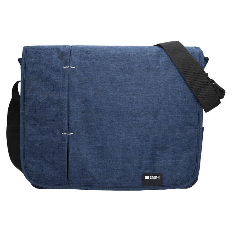 Pánska taška cez rameno Enrico Benetti Monter - modrá