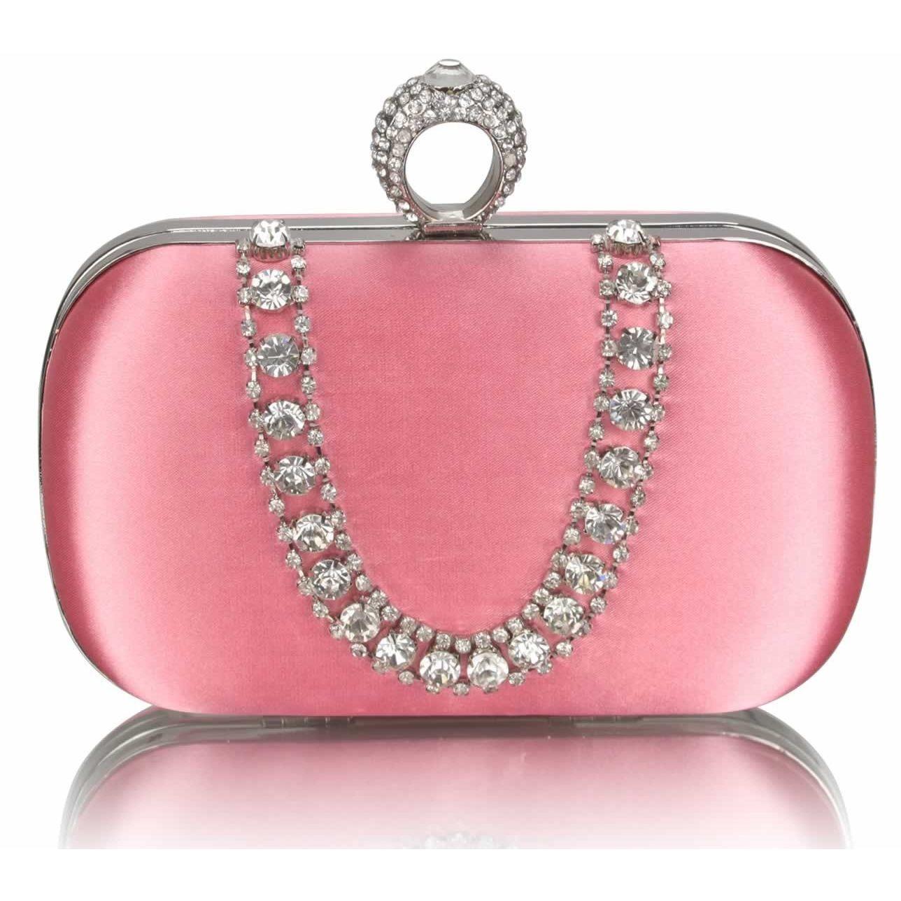 Dámska listová kabelka LS Fashion Kate - ružová
