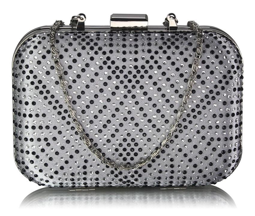 Dámska listová kabelka LS Fashion Ella - strieborná