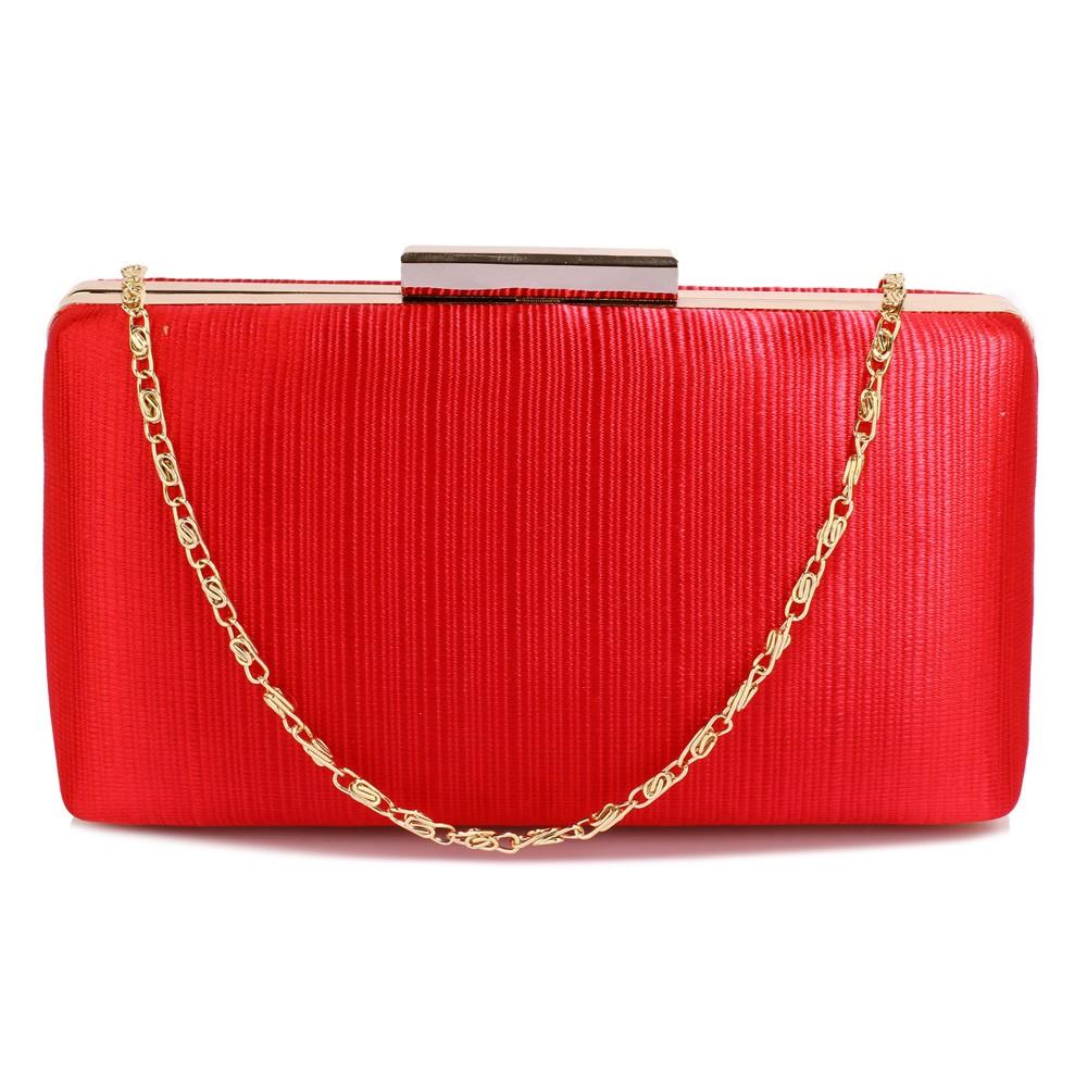 Dámska listová kabelka LS Fashion Holly - červená