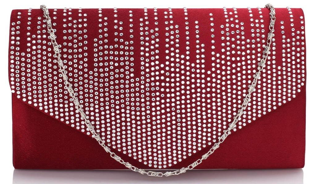 Dámska listová kabelka LS Fashion Anet - červená
