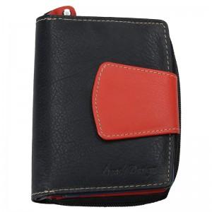 Pánská kožená peněženka SendiDesign Evron - černá