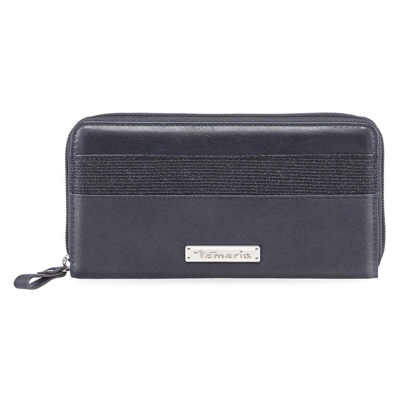 Dámska peňaženka Tamaris Khém Big Zip - tmavo modrá