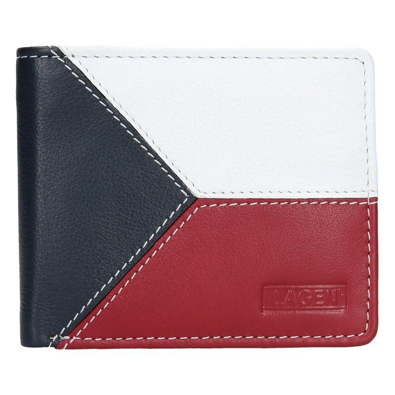Pánska kožená peňaženka Lagen Trikolora