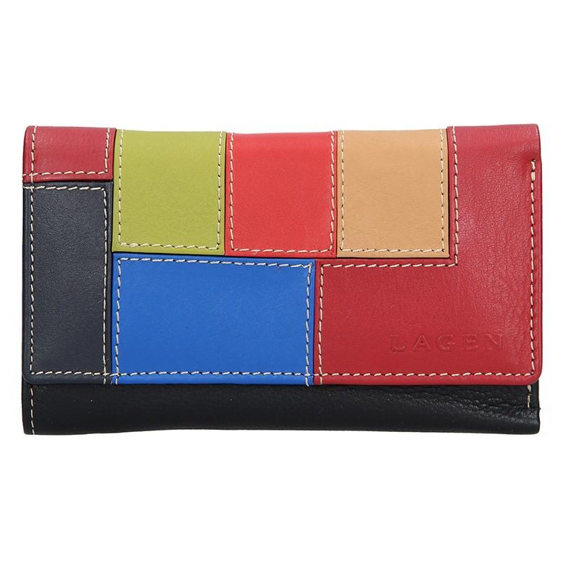 Dámska kožená peňaženka Lagen Akira