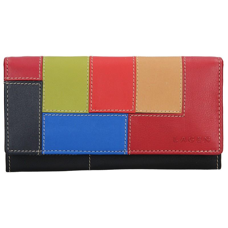 Dámska kožená peňaženka Lagen Morgan