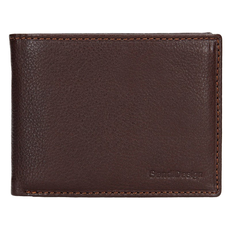 Dámska kožená peňaženka SendiDesign Carlos - hnedá