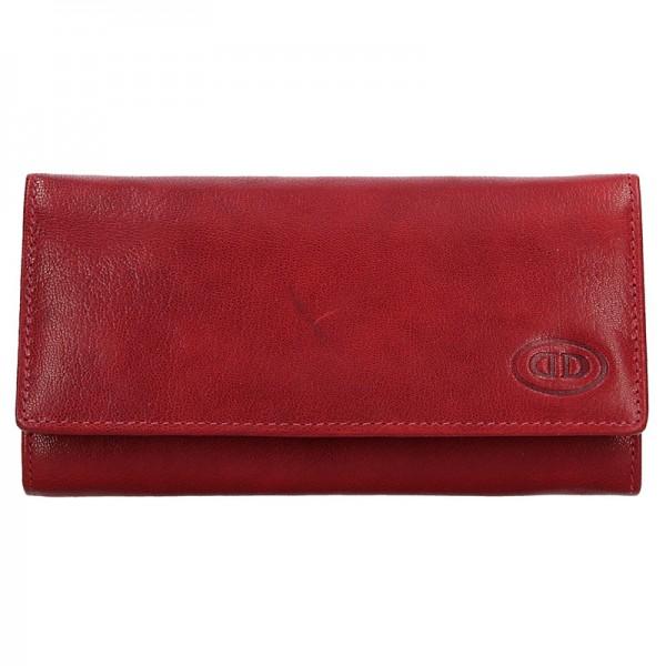 Dámská kožená peněženka DD Anekta Eliška - černá