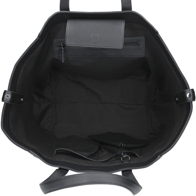 Dámska kabelka Calvin Klein Kamelia - čierna.