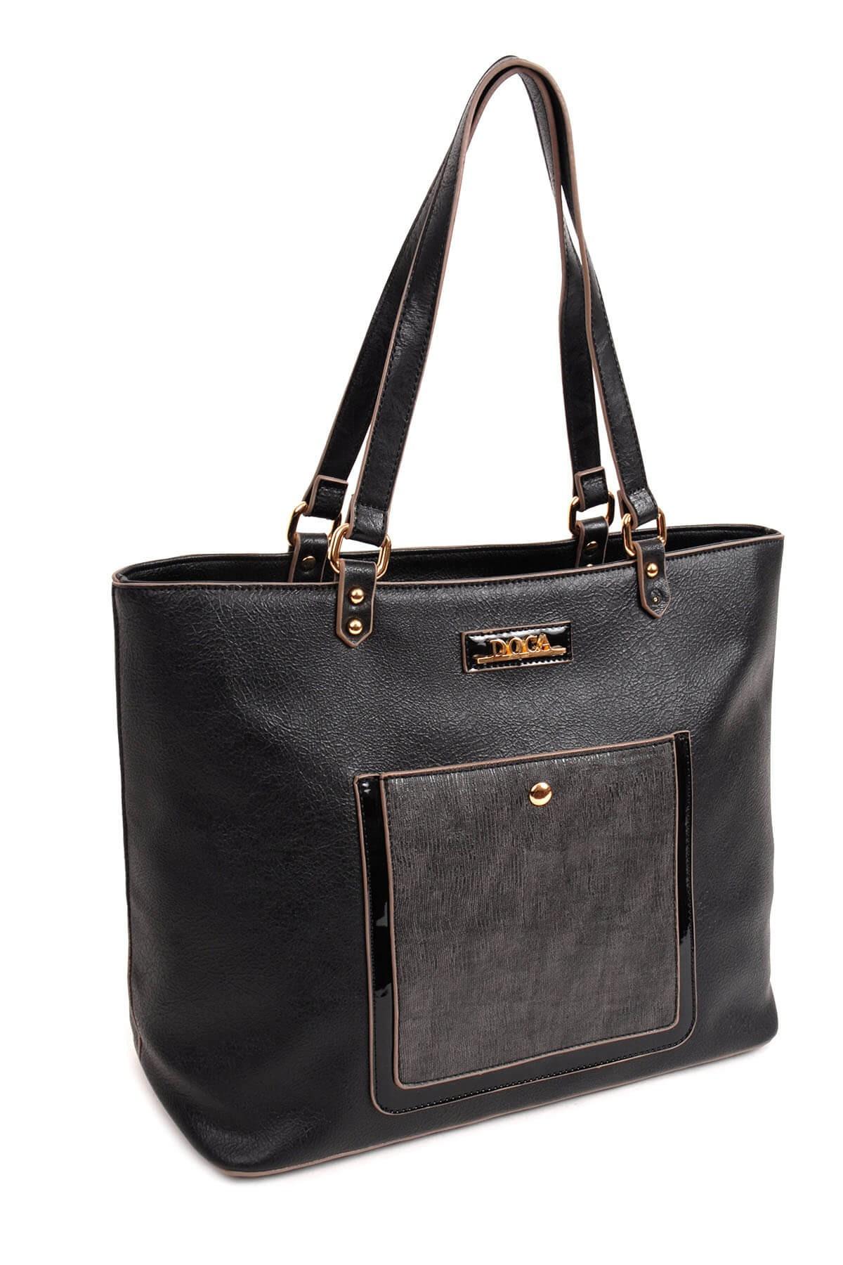Dámska kabelka Doca 13938 - čierna