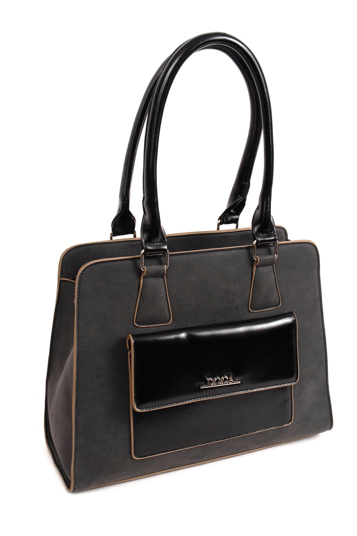 Dámska kabelka Doca 14168 - čierna