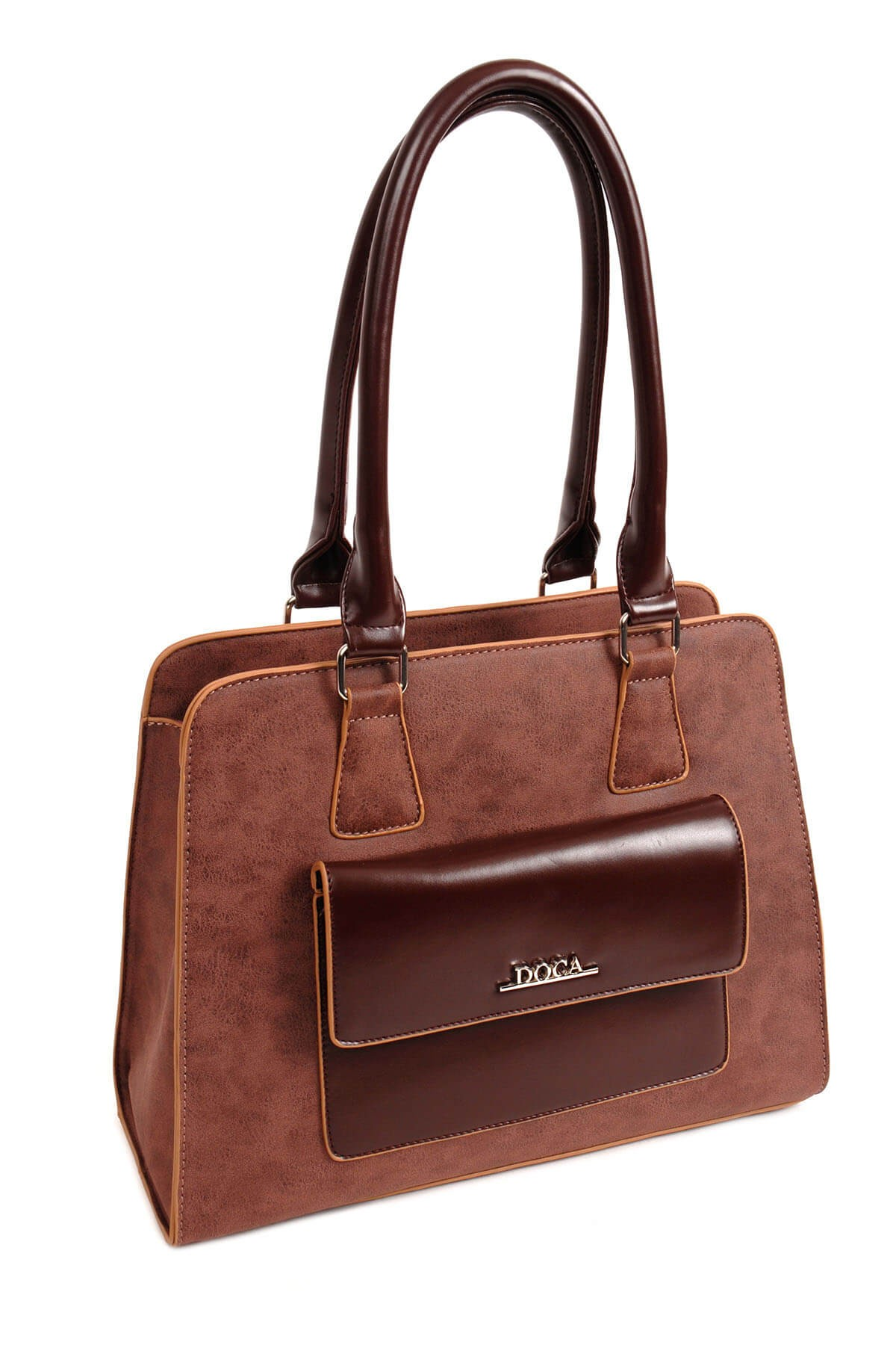 Dámska kabelka Doca 14169 - hnedá