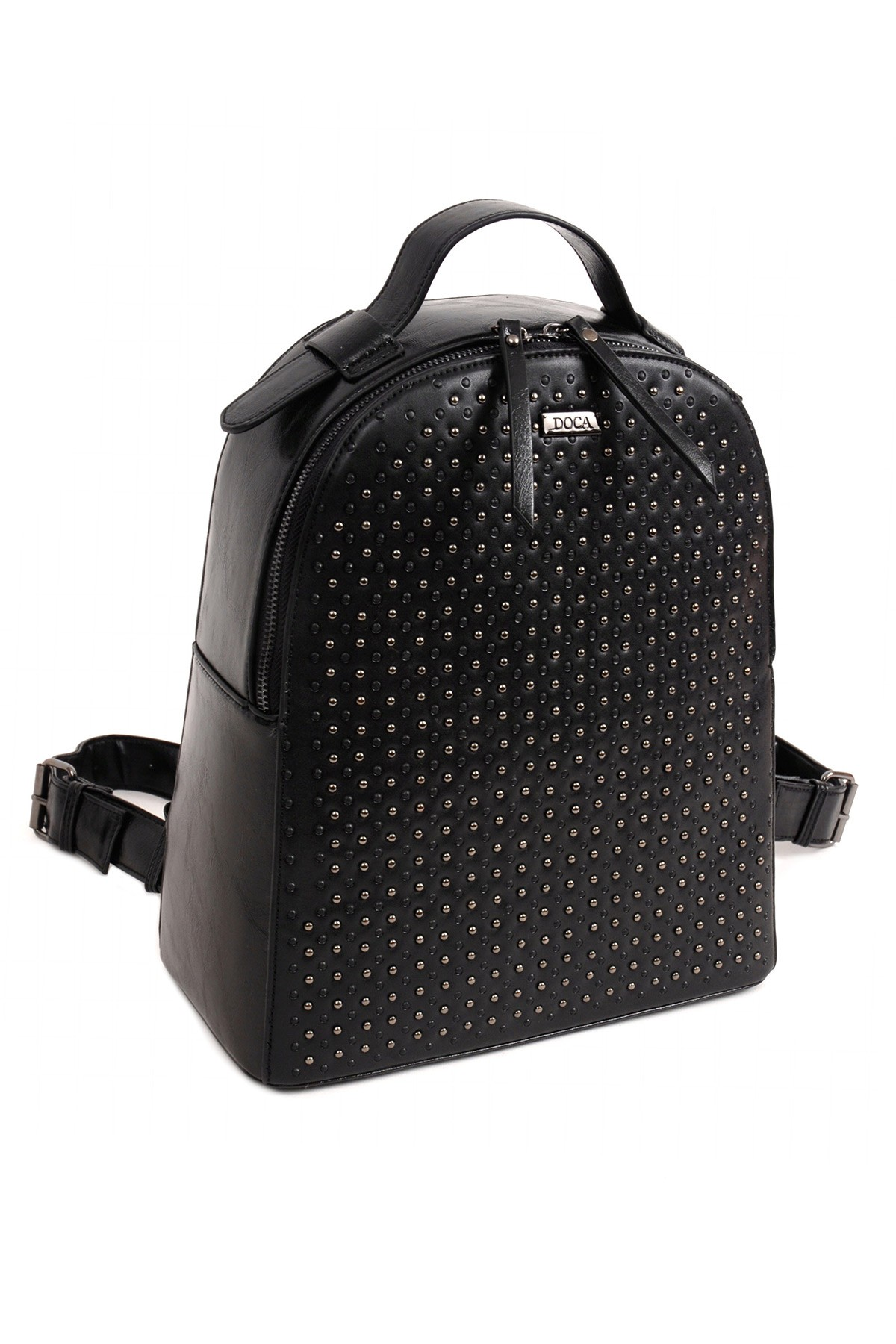 Dámský batoh Doca 14398 - černá.