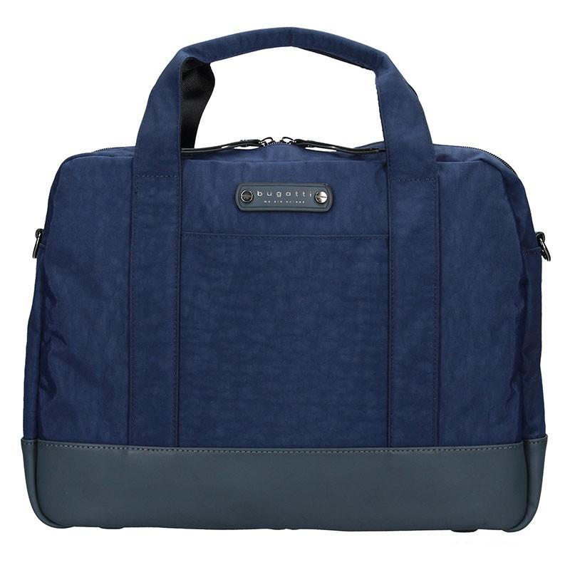 Pánska taška cez rameno Bugatti Bern - modrá