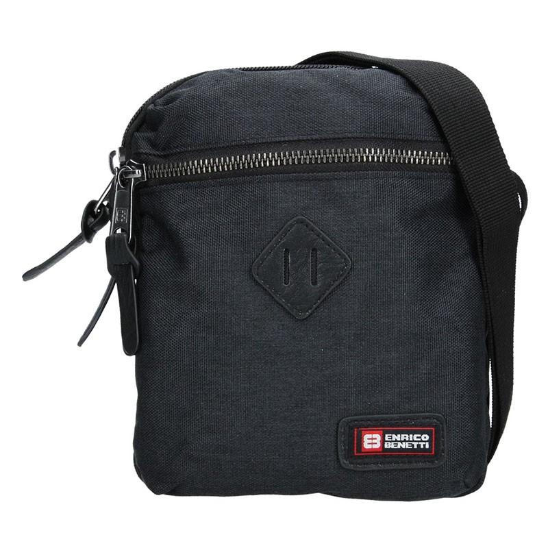 Pánská taška přes rameno Enrico Benetti Paolle - černá