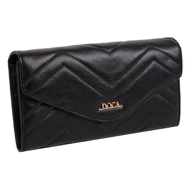 Dámska peňaženka Doca 65013 - čierna