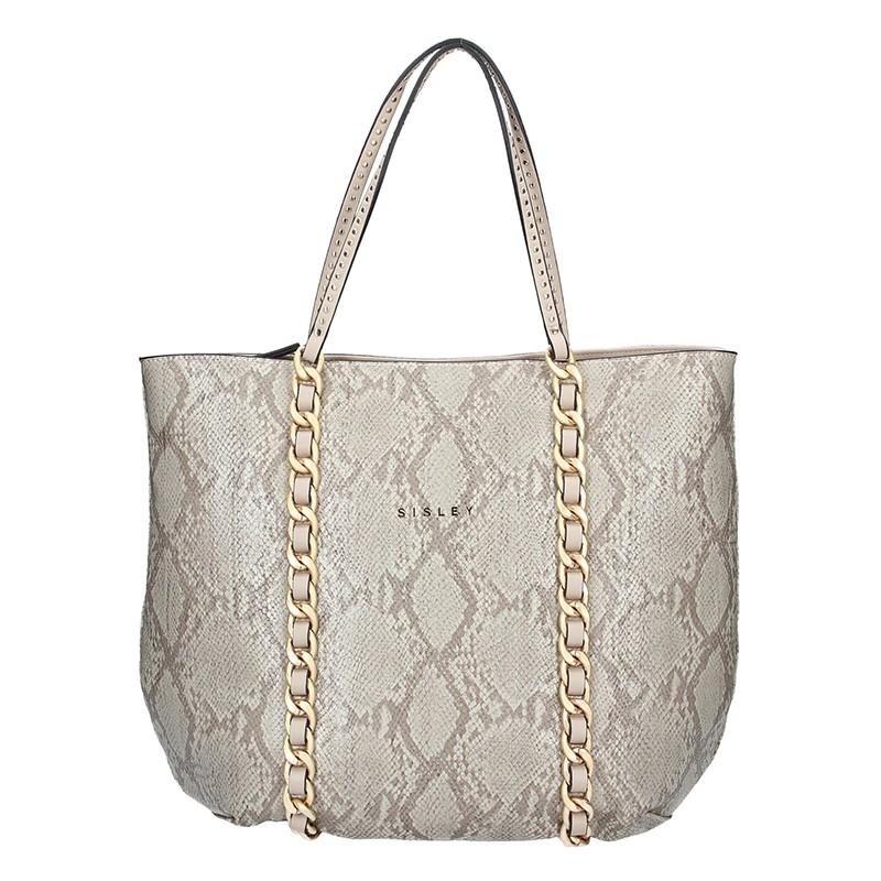 Dámska kabelka Sisley Pavla - béžová