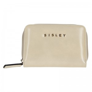 Dámská peněženka Sisley Borja - béžová