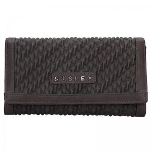 Dámská peněženka Sisley Cassandra - černá