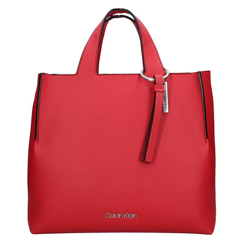 Dámska kabelka Calvin Klein NEAH - červená