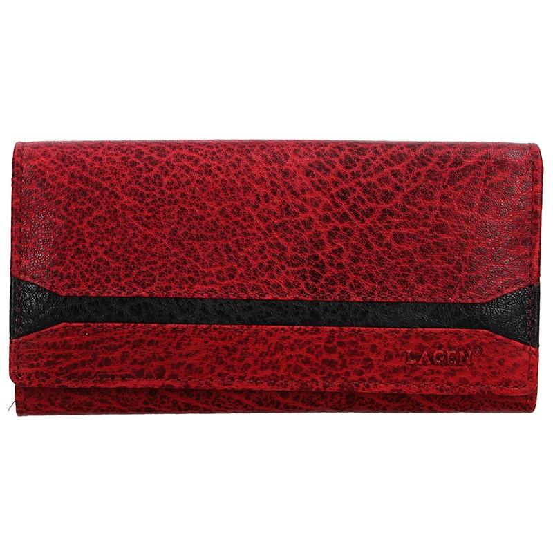 Dámska peňaženka Lagen Marion - červená