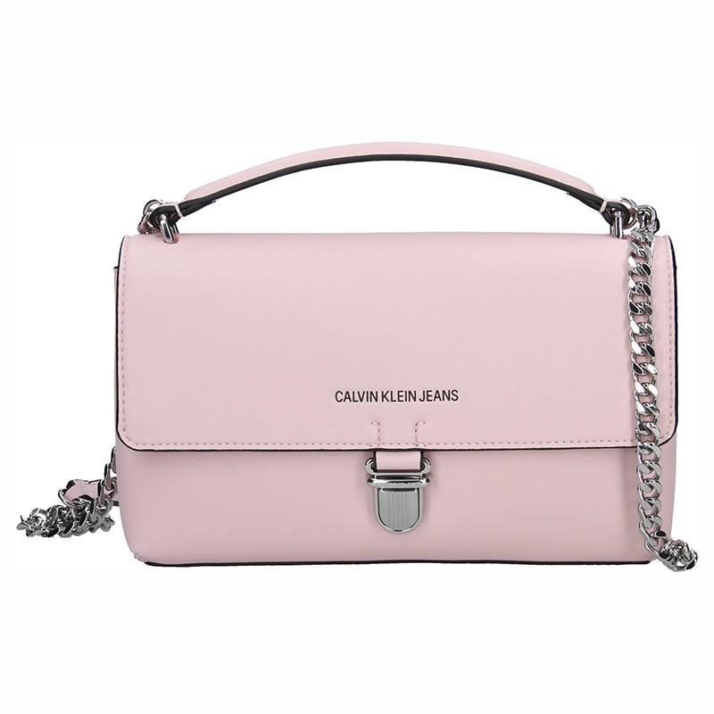 Dámska crossbody kabelka Calvin Klein Amalia - ružová
