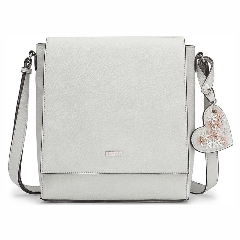 Dámska crossbody kabelka Tamaris Milla - svetlo šedá