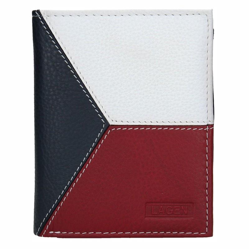 Pánska kožená peňaženka Lagen Trikoloras
